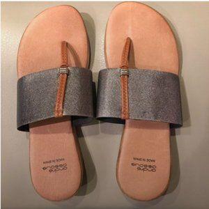 Andre Assous Stretch Nice Slide Sandal Size 38